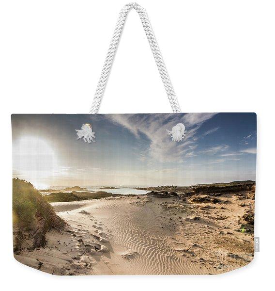 Summer Oasis Weekender Tote Bag
