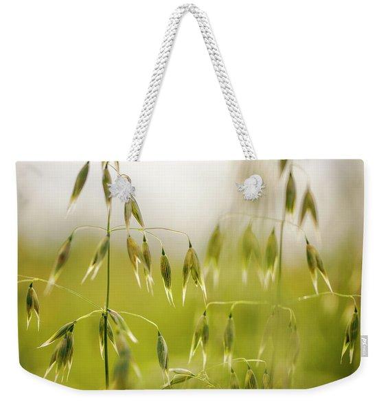 Summer Oat Weekender Tote Bag