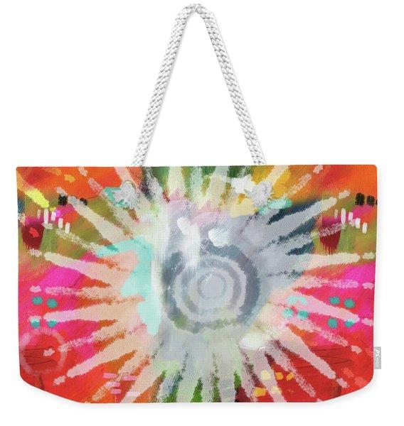 Summer Of Love- Art By Linda Woods Weekender Tote Bag
