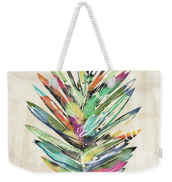 Summer Palm Leaf- Art By Linda Woods Weekender Tote Bag