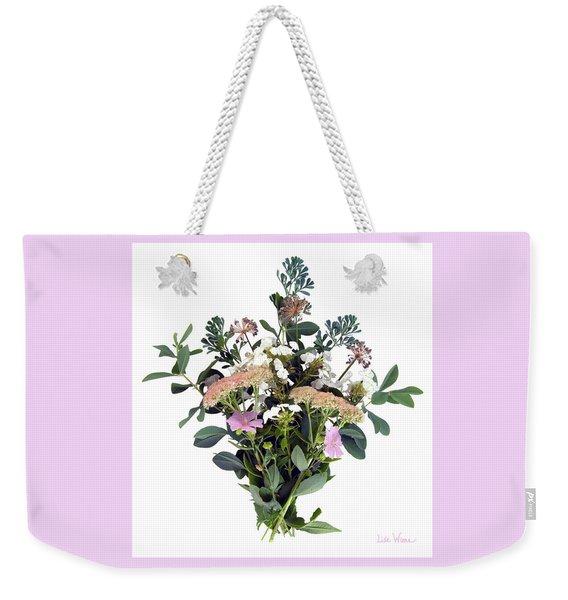 Summer Perrenials Weekender Tote Bag