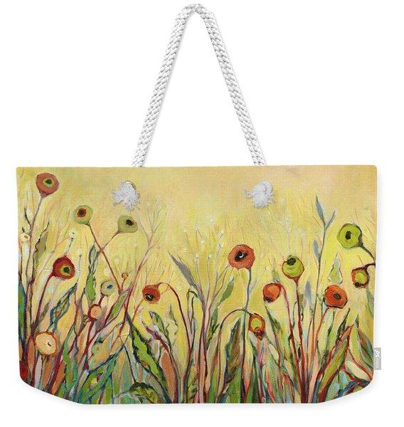 Summer Poppies Weekender Tote Bag