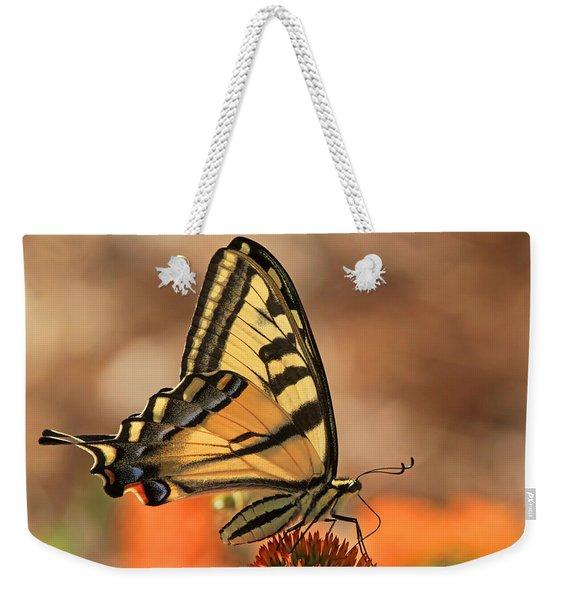 Summer Portrait Weekender Tote Bag