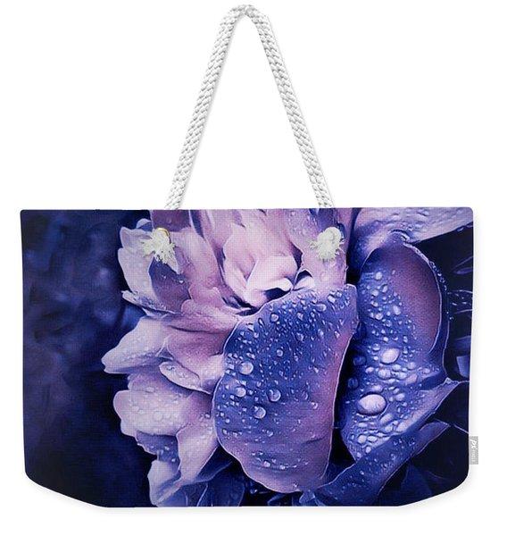 Summer Rain Weekender Tote Bag