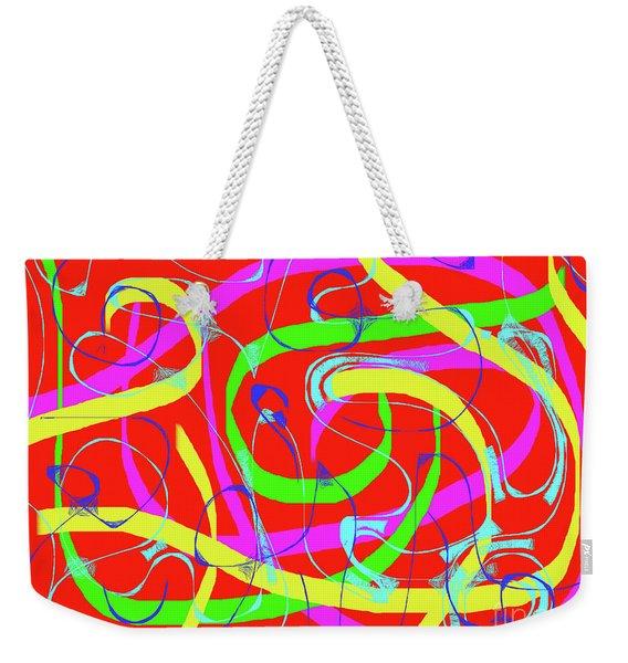 Summer Rhythm Weekender Tote Bag