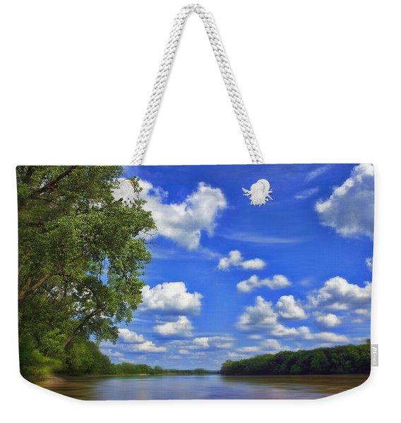 Summer River Glory Weekender Tote Bag