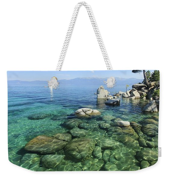 Summer Sail Portrait Weekender Tote Bag