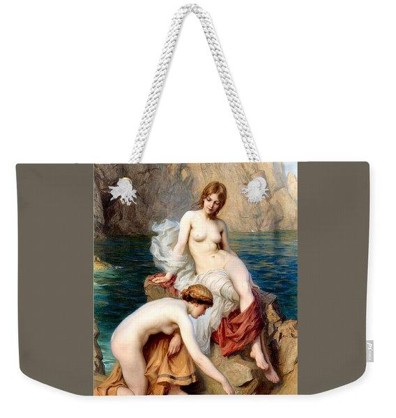 Summer Seas 1912 Weekender Tote Bag