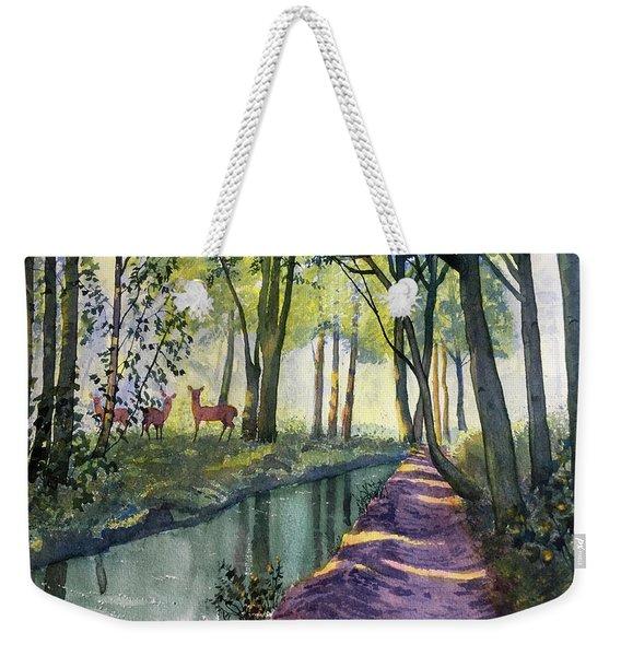 Summer Shade In Lowthorpe Wood Weekender Tote Bag