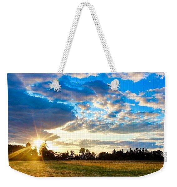 Summer Skies Weekender Tote Bag
