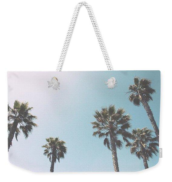 Summer Sky- By Linda Woods Weekender Tote Bag