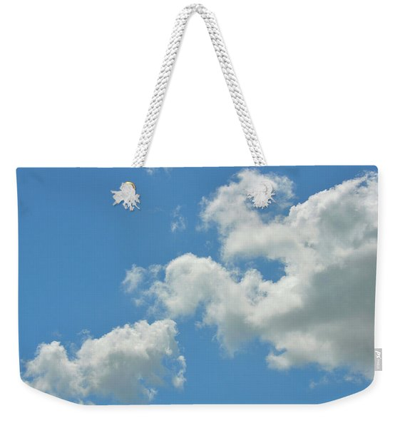 Weekender Tote Bag featuring the photograph Summer Sky by JAMART Photography