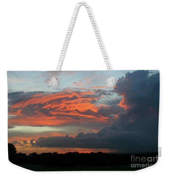 Summer Sky On Fire  Weekender Tote Bag