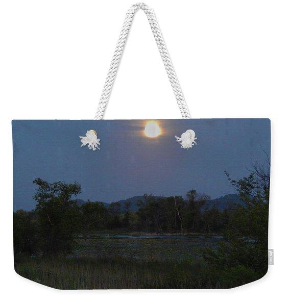 Summer Solstice Full Moon Weekender Tote Bag