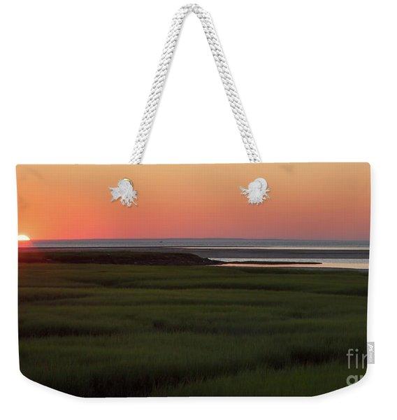 Summer Sun Down Weekender Tote Bag
