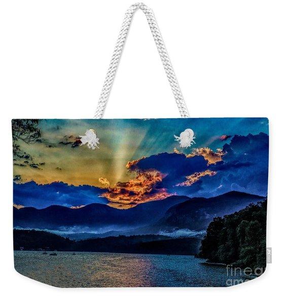 Summer Sundown Weekender Tote Bag