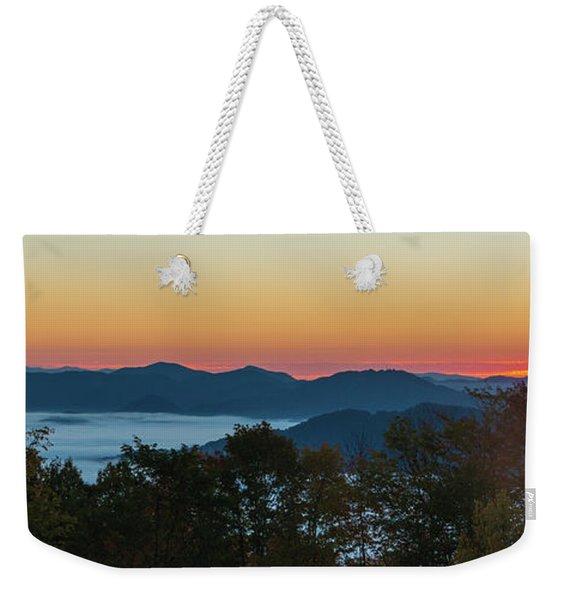 Summer Sunrise - Almost Dawn Weekender Tote Bag
