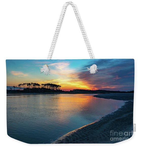 Summer Sunrise At The Inlet Weekender Tote Bag