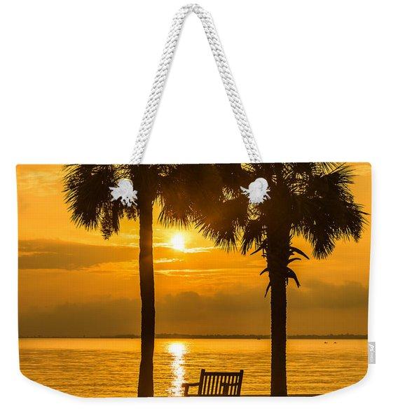 Summer Sunrise - Charleston Sc Weekender Tote Bag