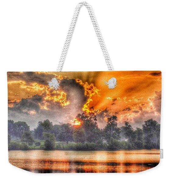 Summer Sunrise Number 1 - 2019 Weekender Tote Bag