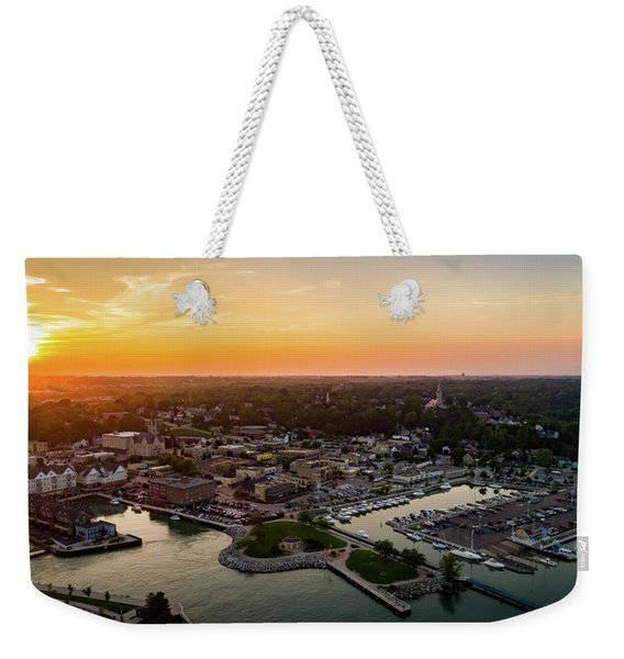 Summer Sunset In The Sky Weekender Tote Bag