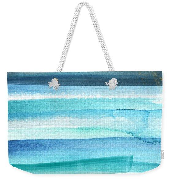Summer Surf 2- Art By Linda Woods Weekender Tote Bag