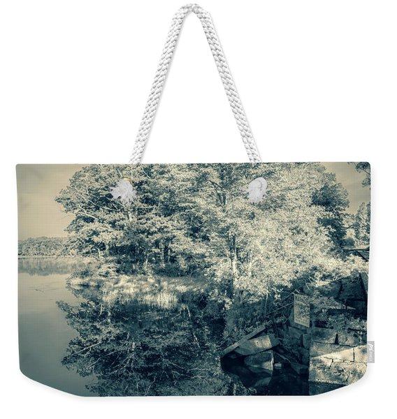 Summer Time Blues Weekender Tote Bag