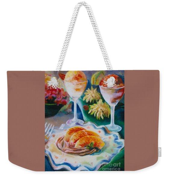Summer Treats Weekender Tote Bag