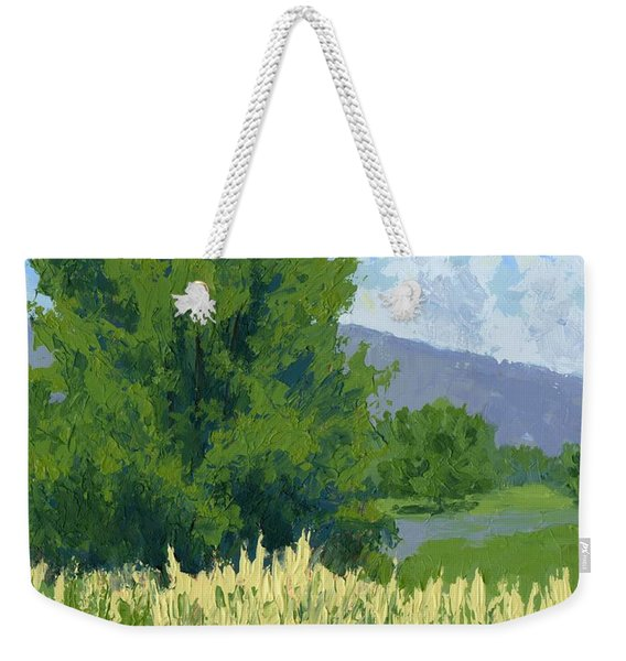 Summer Tree Weekender Tote Bag