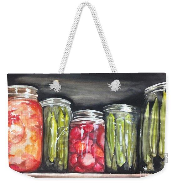 Summer Under Glass Weekender Tote Bag