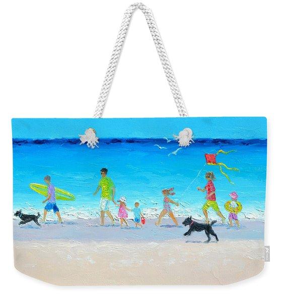 Summer Vacation Time Weekender Tote Bag