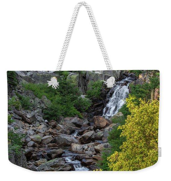 Summer Waterfall Weekender Tote Bag