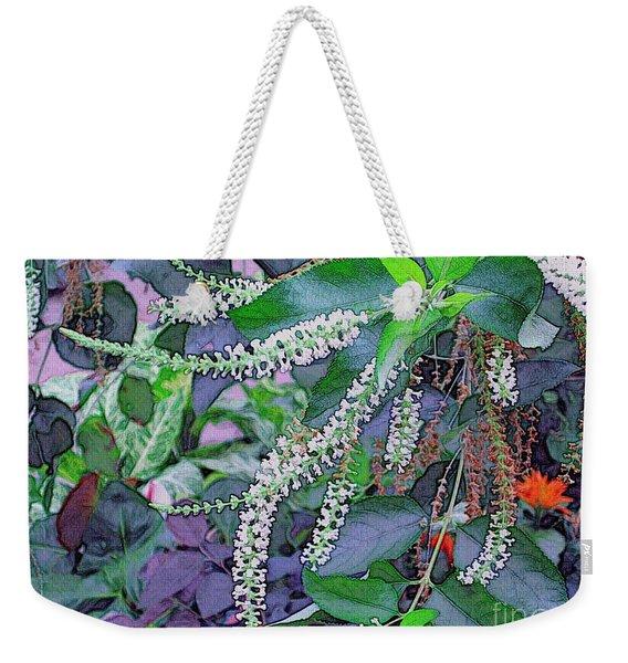 Summer White Weekender Tote Bag