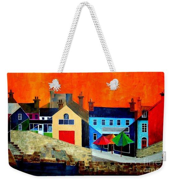 The Bulman, Summercove, West Cork Weekender Tote Bag