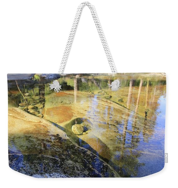 Weekender Tote Bag featuring the photograph Summers Depth by Sean Sarsfield