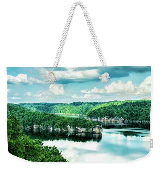 Summertime At Long Point Weekender Tote Bag