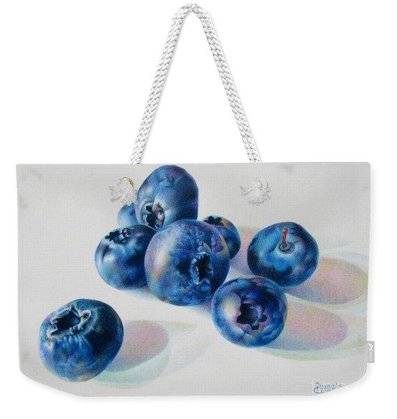 Summertime Blues Weekender Tote Bag