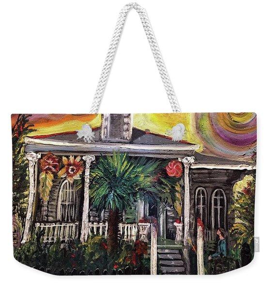 Summertime New Orleans Weekender Tote Bag