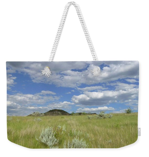 Weekender Tote Bag featuring the photograph Summertime On The Prairie by Cris Fulton