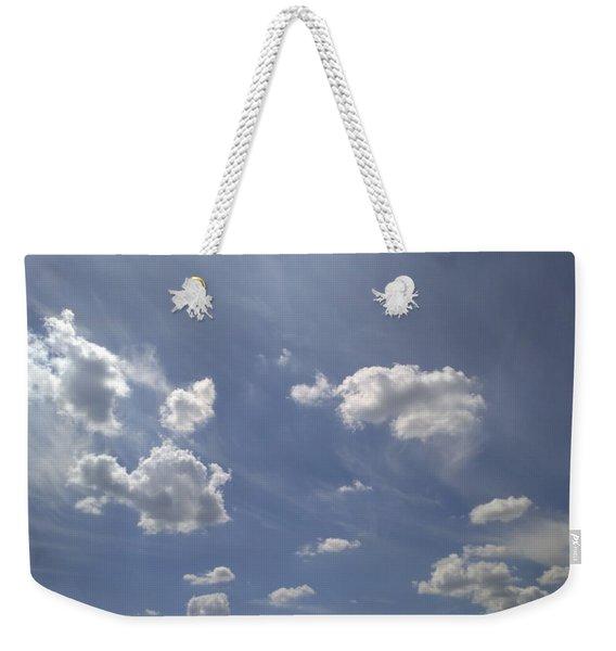 Summertime Sky Expanse Weekender Tote Bag