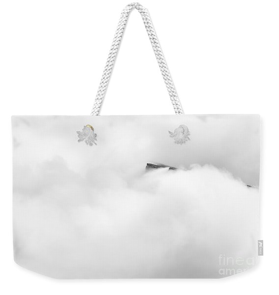 Weekender Tote Bag featuring the photograph Summit by Doug Gibbons