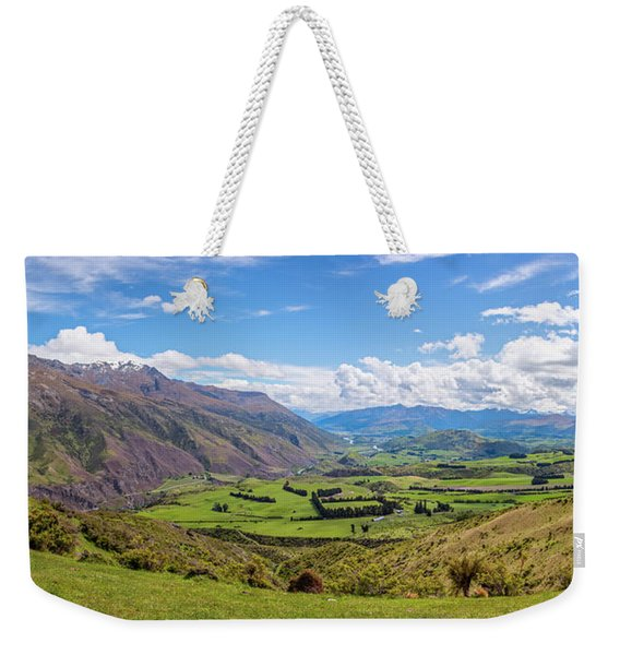 Summit View New Zealand II Weekender Tote Bag