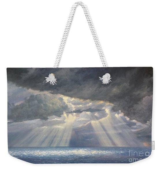 Storm Subsides Weekender Tote Bag