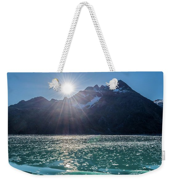 Sunshine And Ice Weekender Tote Bag