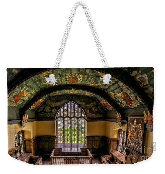 Sun And Moon Chapel Weekender Tote Bag