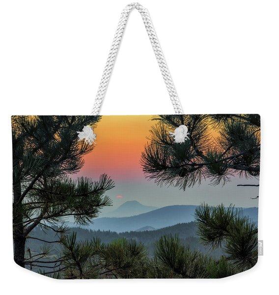 Sun Appears Weekender Tote Bag