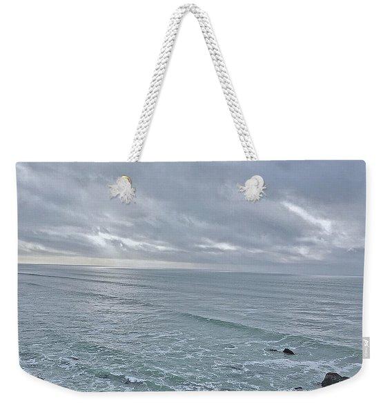 Along The North Coast Weekender Tote Bag