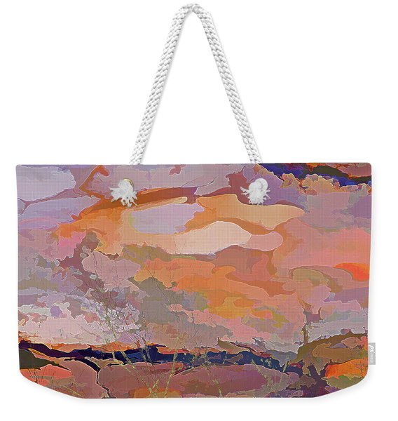 Sun Breaks Through Weekender Tote Bag