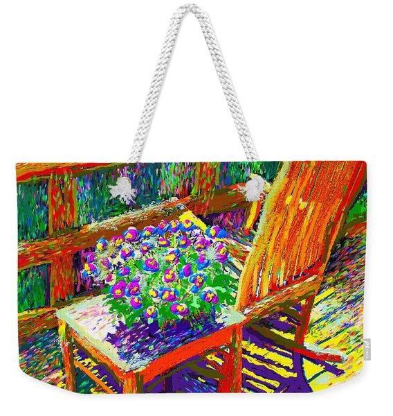 Sun Dance On Deck Weekender Tote Bag