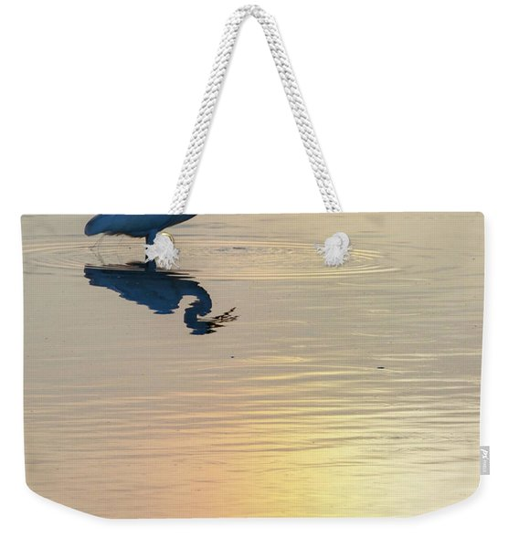 Sun Dog And Great Egret 4 Weekender Tote Bag